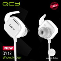 QCY Sport Bluetooth Earphone QY12 White