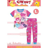 PAJAMAS ANAK   PINK  MOTIF LITTLE PONY  (2-7TH) (RSBY-3965)