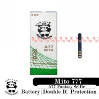 Baterai Mito A77 Fantasy Selfy Mito 777 BA-00054 Double IC Protection