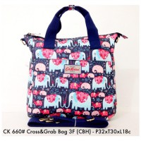 Tas Ransel Wanita Fashion Cross & Grab Bag 3F 660 - 10