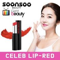 Soonsoo Celeb Lipstick RED