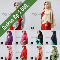 Hijab/Jilbab Sequin Pet