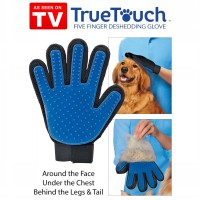 True Touch Five Finger Pet Deshedding Glove - As Seen On TV