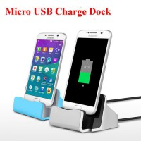 Universal Micro USB 2A Desktop Charger Dock Stand Station For Android