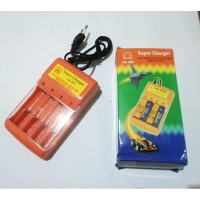Charger Baterai AAA/AA 4 Slot Super Charger Battery LK-201