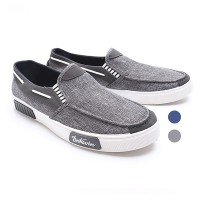 2Pilihan Dr.Kevin Men Casual Slip On Bratsk 13279 : Grey, Blue