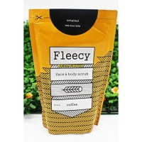 COFFEE / KOPI ] FLEECY SCRUB FACE AND BODY SCRUB BPOM