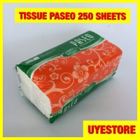 TISU TISSUE PASEO SMART 250 SHEETS Z0187A