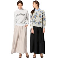 The-Fahrenheit Aldis Japanese Long Skirt