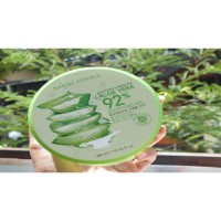 Nature Republic  300ml Aloe Vera 92% Soothing Moisture Gel Skin-firming and moisturing effects.