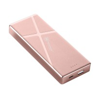 MICROPACK POWER BANK 7200 MAH LI-POLYMER BLACK/GOLD/GRAY/ROSE GOLD (PB-7200.BLK.GLD.GRY.RSG)