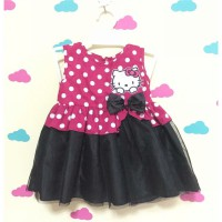Dress bayi / hello kitty dress