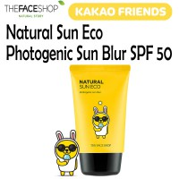 [FREE ONGKIR] The Face Shop Natural Sun Eco Photogenic Sun Blur SPF50 PA Kakao Friends Edition