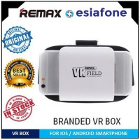 [esiafone top vr] REMAX Field Series 3D VR Box Virtual Reality Glasses for Smartphone 4.7 - 6 Inch