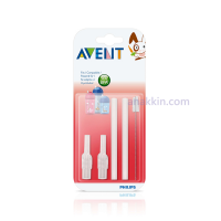 Philips Avent Replacement Straw and Brush Set / Sedotan dan Sikat