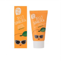 (POP UP AIA) QYO QYO TANGERINE BRIGHT AND MOIST JELLY SUNBLOCK SPF 40 PA 50ML