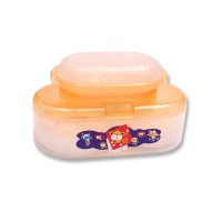 Lusty Bunny Oval Case-TB-1556-Orange