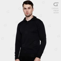 CASUAL FRESH HITAM KNIT SWEATER