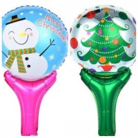 Balon Stick/Petung Merry Christmas 2 In 1