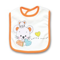 Lusty Bunny Slaber Bib Mouse-TL3650Orange