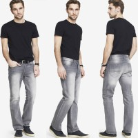 EXPMen Kingston Bootcut Grey