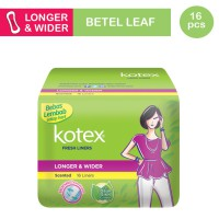 Kotex Fresh Liner Longer & Wider Daun Sirih (16 pcs)