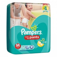PAMPERS DRY PANTS M30/ L26/ XL 22