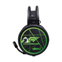 Armaggeddon Atom 3 ( 7 Colour Lighting With Pulsating EFX ) Gaming Headset
