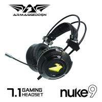 Nuke 9 (7.1 Surround) Gaming Headset with 7 colour lighting