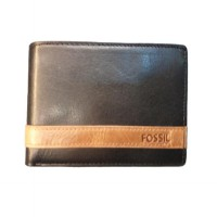 Dompet Pria Original Leather Fossil Quinn mini