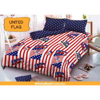 Sprei Kintakun uk 180x200 Motif United Flag