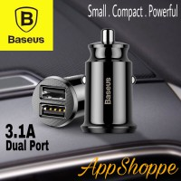 Baseus Car Charger Mini USB HAMMER Phone Tablet GPS 3.1A Fast Charging