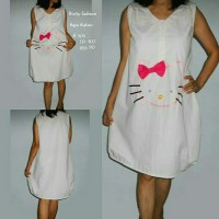 baju katun dress helli kitty - ff305