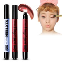 16 Brand - Finger Pen Lip Tint / Eye Shadow / Cheeks / Two Tone Lips Colors - All in One Tint