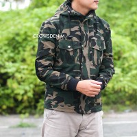 Crows Denim - Jaket Parka Style Army SK111