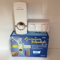 Dispenser Odol dan Tempat Sikat Gigi / Toothpaste and Brush Set