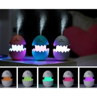 Egg Aroma Diffuser Humidifier USB LED 7-Color Nightlight 100ml Telur