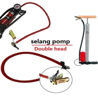 selang pomp angin Double head 1 pcs  SJ0096