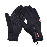 Sarung Tangan Motor Resleting Windstopper Motorcycle Gloves Zipper