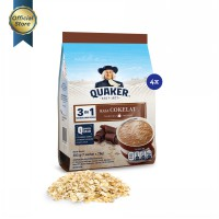 Quaker 3 in 1 Chocolate Polybag 7s - 4 Pcs