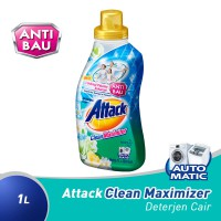 Attack Liquid Clean Maximizer 1000Ml