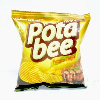 Pota Bee Potato Chips Barbeque 68gr