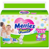 Merries Pants L30 2 banded/pcs