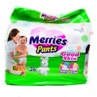 Merries Pants xl 26 2 banded/pcs