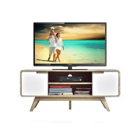 Anya-Living Meja TV Anette Tv Stand - Sonoma Oak Light