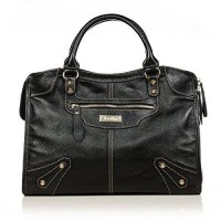 harga [macyskorea] Aretha aretha 141061-BL Paris Vintage Genuine Cow Leather Satchel Bag/2445463 elevenia.co.id