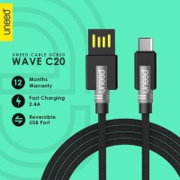 UNEED Wave C20 Kabel Data Type C Smartphone Fast Charging 2.4A UCB20C