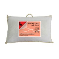 THE LUXE NATURAL LATEX POLY FIBERFILL PILLOW / BANTAL / GULING