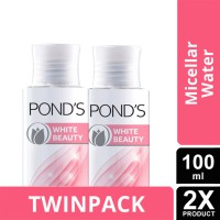 TWIN PACK - PONDS White Beauty Brightening Micellar Water 100ml-y