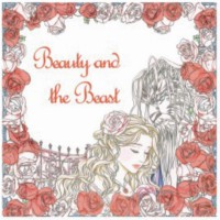 My style ST 7780 Colouring Book Beauty And The Beast